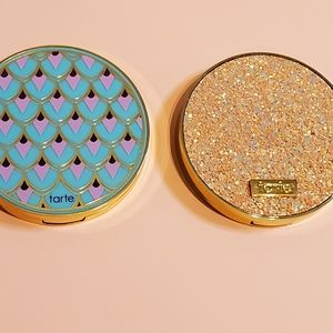 Tarte Rainforest of the Sea and Sizzle Palettes